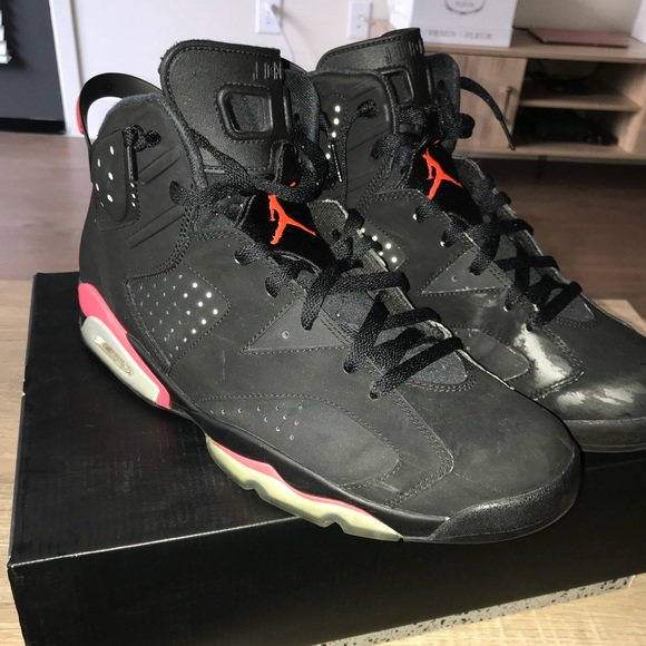 77c6b5153b46e7 Jordan Other - Jordan retro 6 black infrared sneakers 13